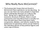 who really runs mccormick