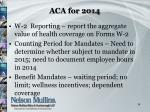 aca for 20142