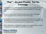 pay 2 000 penalty for no coverage