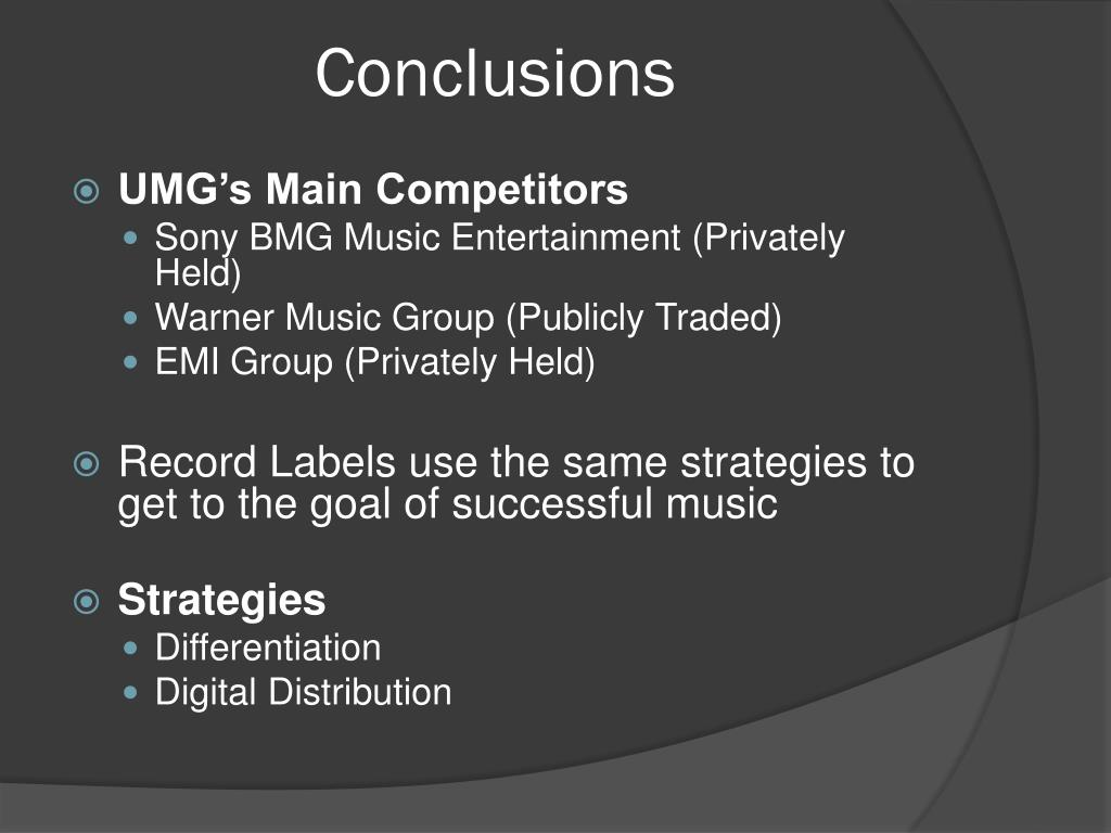 PPT - Universal Music Group PowerPoint Presentation - ID:1666402