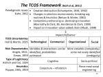 the tcos framework hall et al 2011