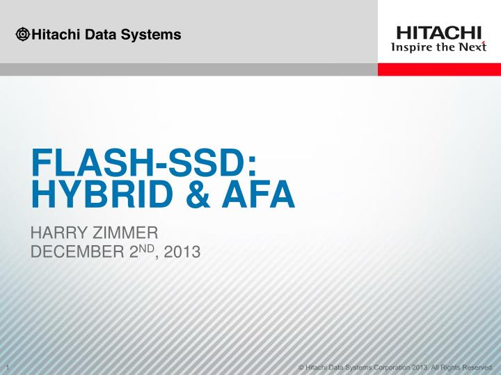 flash ssd hybrid afa n.