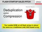 flash startup sales pitch