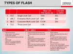 types of flash