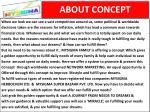 about concept