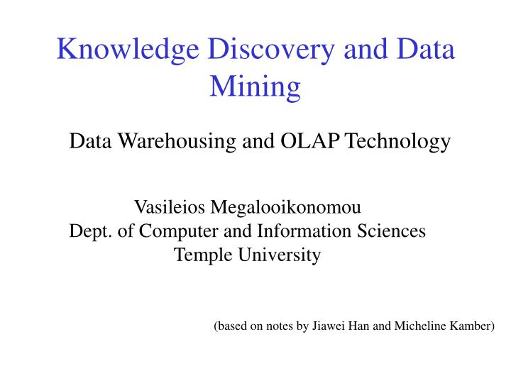 knowledge discovery and data mining n.