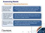 assessing needs