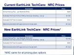 current earthlink techcare nrc prices