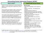 accounting career awareness program acap