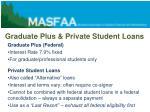 graduate plus private student loans