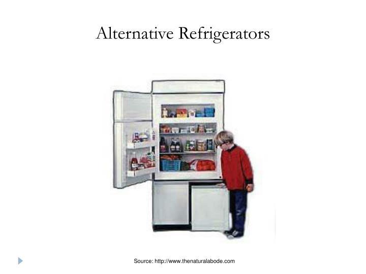 Alternative Refrigerators