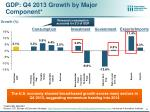 gdp q4 2013 growth by major component