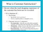 what is customer satisfaction
