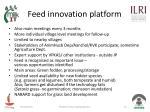 feed innovation platform