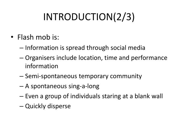 INTRODUCTION(2/3)