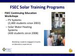 fsec solar training programs1