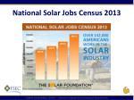national solar jobs census 20131