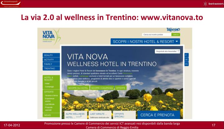 La via 2.0 al wellness