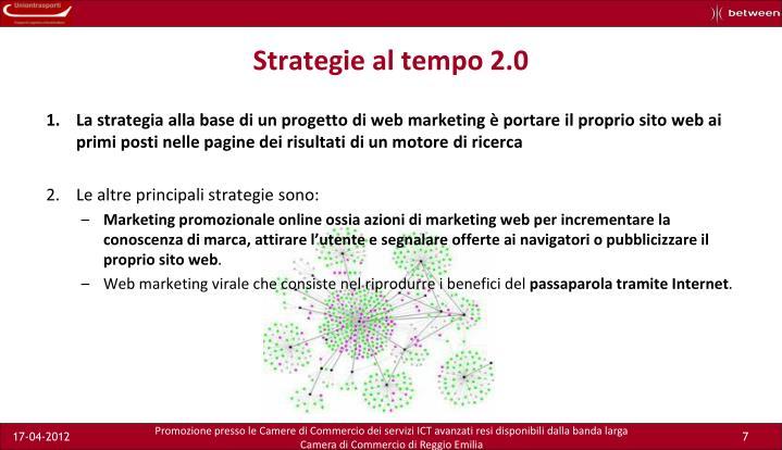 Strategie al tempo 2.0