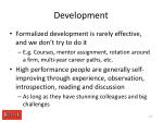 development1