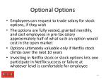 optional options