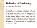 definition of purchasing2