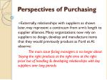 perspectives of purchasing1