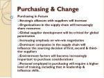 purchasing change7