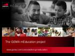 the gsma meducation project
