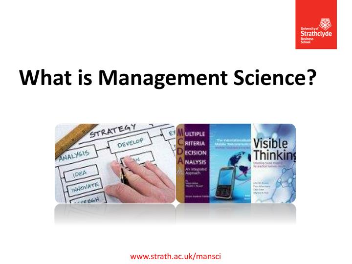 what is management science n.