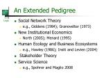 an extended pedigree1