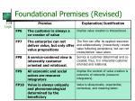 foundational premises revised1