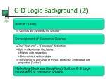 g d logic background 2