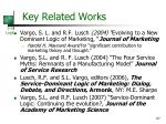 key related works