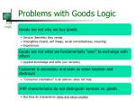 problems with goods logic1