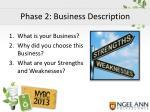 phase 2 business description