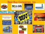 best buy companies inc
