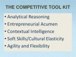 the competitive tool kit