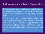 2 government and public organizations1
