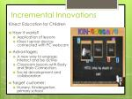incremental innovations1