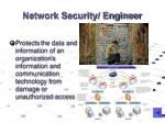 network security engineer