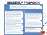securely provision