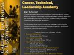 career technical leadership academy