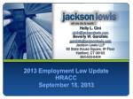 2013 employment law update hracc september 18 2013