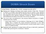 doma struck down