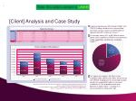 client analysis and case study1