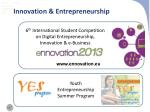 innovation entrepreneurship