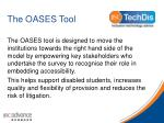 the oases tool