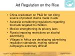 ad regulation on the rise