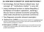 2a how new is concept of good institutions